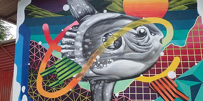 streetart nusa pendia