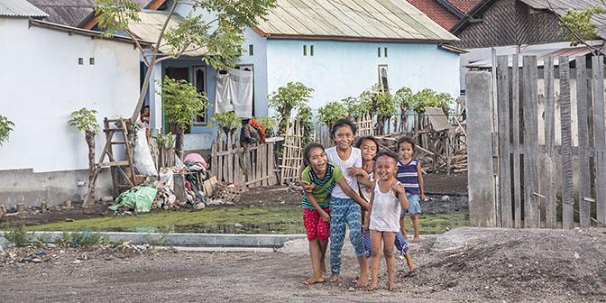 kinderen lombok