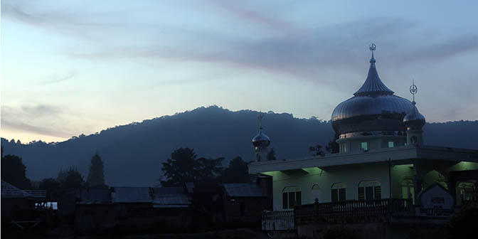 moskee berastagi