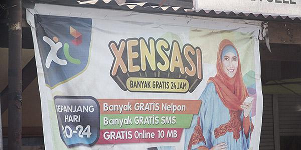 mobiele telefoon indonesie
