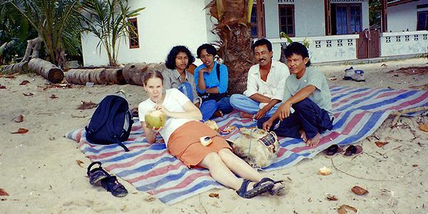 indonesie strand bedekt