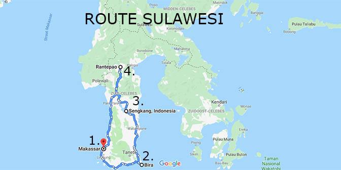 indonesie sulawesi rondreis