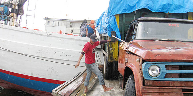 vervoer sulawesi indonesie