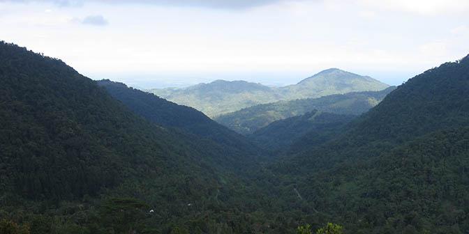 bergen zuid sulawesi