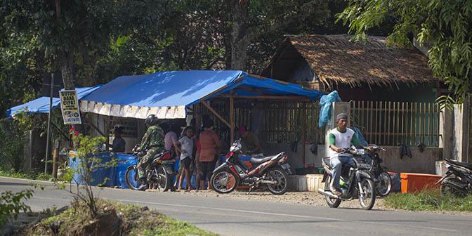 dorp sumatra indonesie