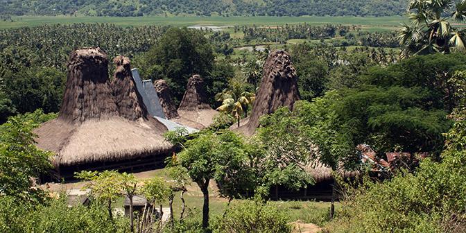 tradtitionele dorpen sumba