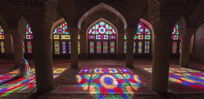 molk moskee shiraz