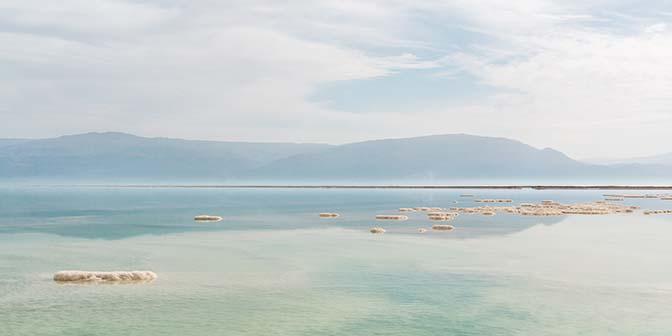 landschap dode zee israel