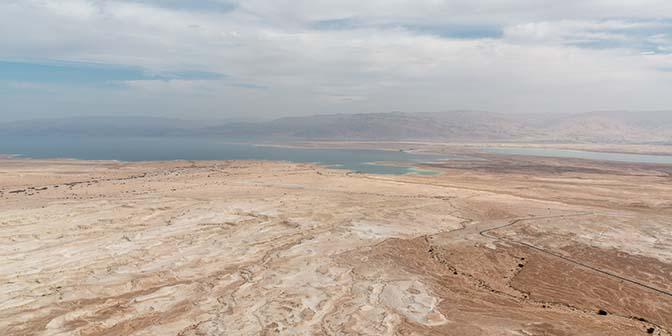 woestijn bij de dode zee