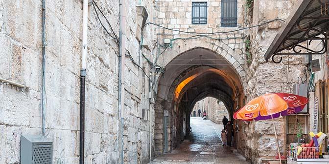 moslimwijk oude jeruzalem