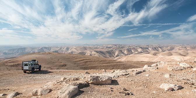 fotografie zijlicht judean desert