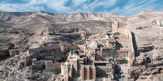mar sada klooster israel