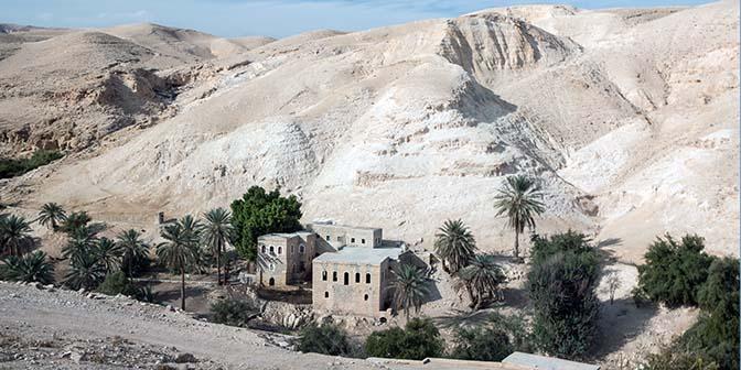 wadi qelt woestijn