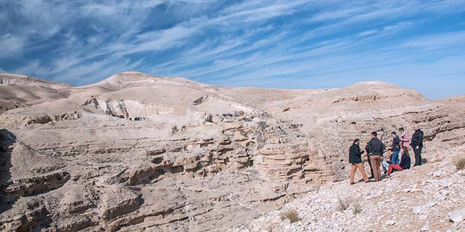 wandelen woestijn judea