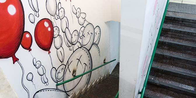florentin street art tel aviv trap