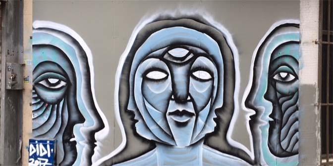 florentin street art tel aviv didi