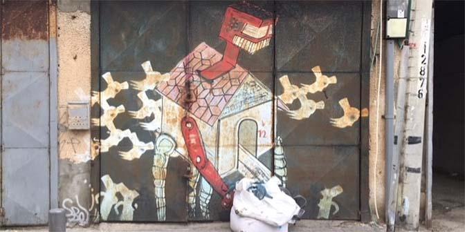 florentin street art tel aviv florentin