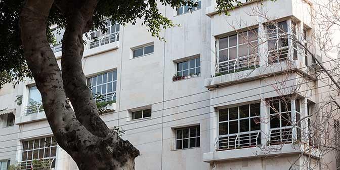 bauhaus architectuur tel aviv