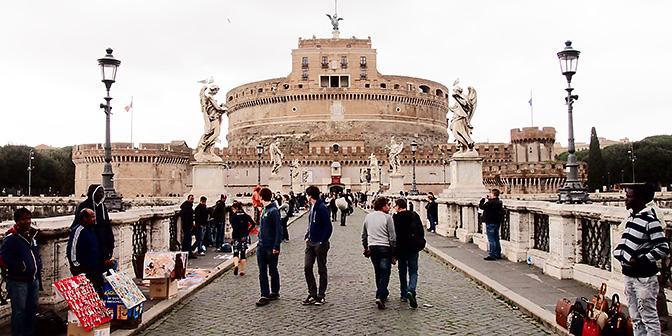 engelenbrug rome