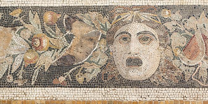 mozaiek archelogisch museum napels