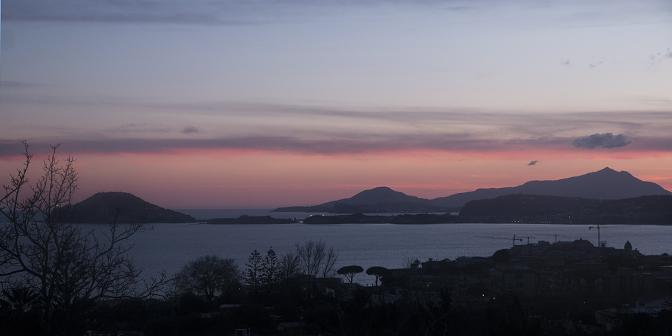 zonsondergang middellandse zee