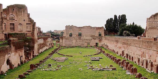forum romanum rome italie