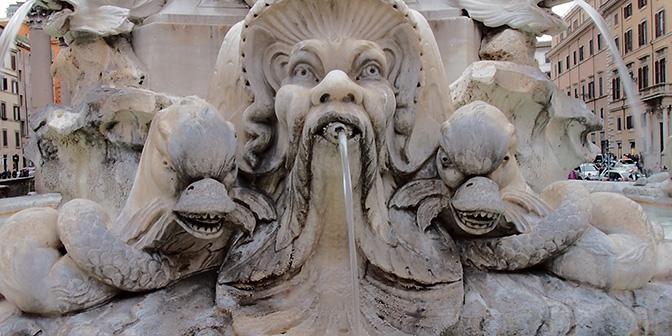 fontein piazza popolo