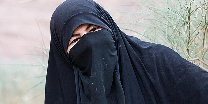 bedoeine vrouw jordanie