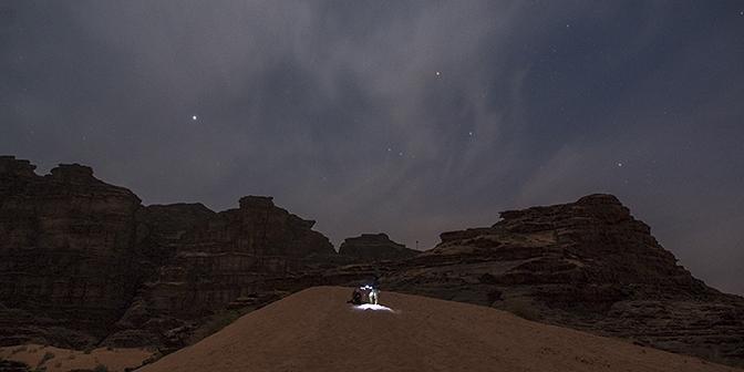 sterren wadi rum