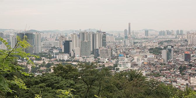 uitzicht seoul tower