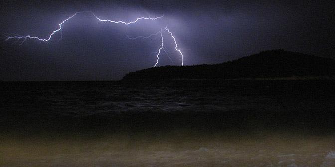 onweer kroatie