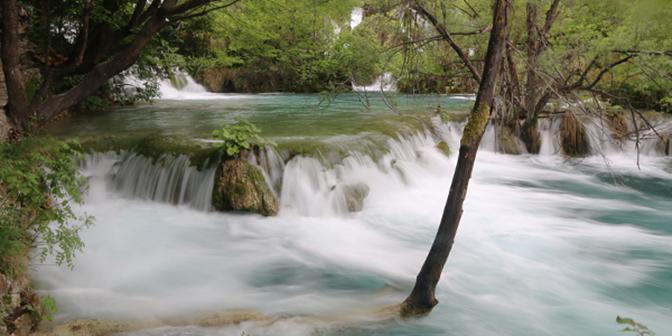 natuur plitvice lower lakes