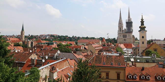 zagreb kroatie stad