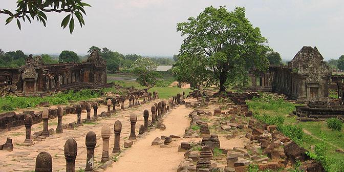 khmer tempel champasak