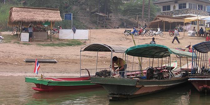 boot thailand laos