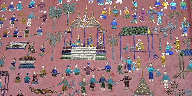 detail tempel laso