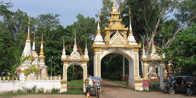 tempels in vientiane