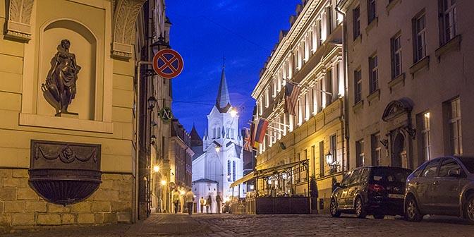 middeleeuws centrum kerk