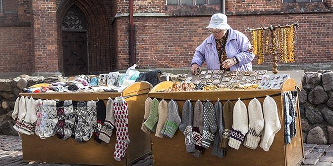 sokken kerstmarkt riga