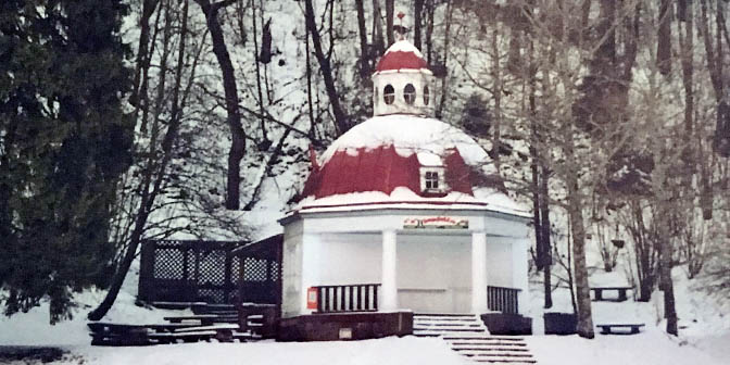 sigulda in de winter