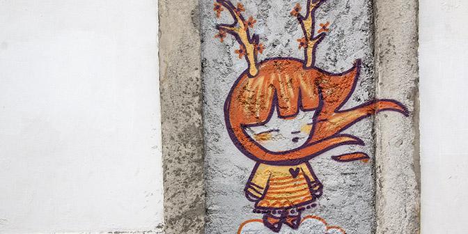 julieta street art lissabon