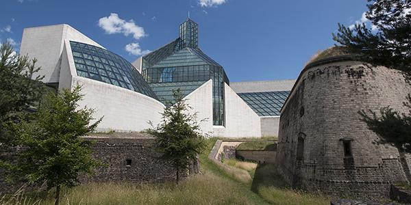 mudam fort drai eechelen luxemburg