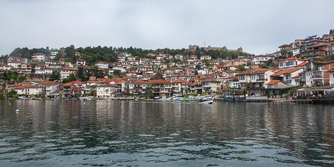 lake ohrid noord-macedonie