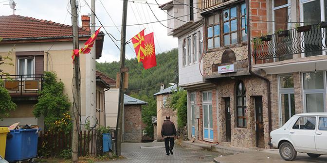 route macedonie stad