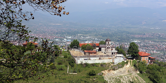 panteljemon klooster skopje