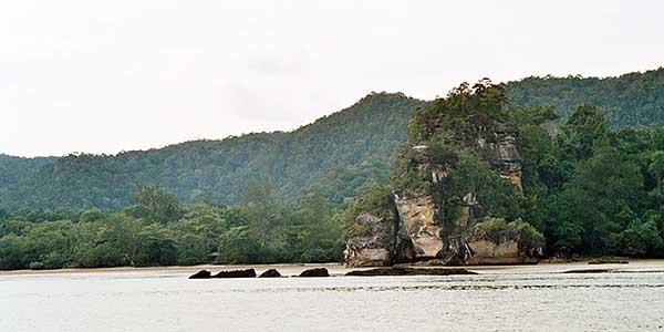 strand bako national park