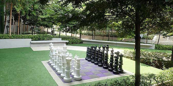 schaken tuin kuala lumpur