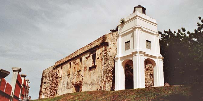 ruine kerk malakka