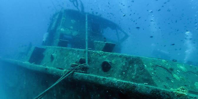 wrak perhentians duiken