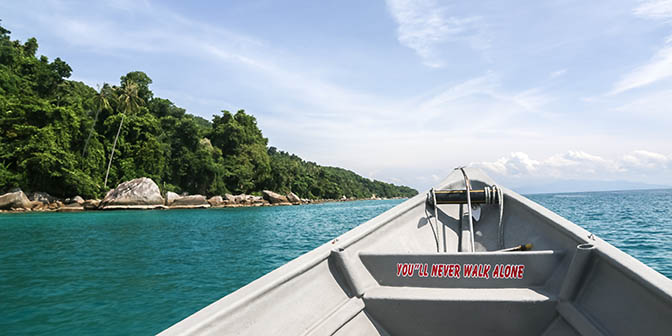 perhentian boottocht